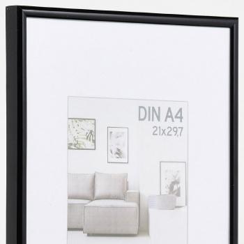 Aktionsrahmen TREND 13x18 | schwarz | Normalglas