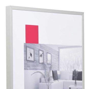 Aluminiumrahmen S2 13x18 | silber matt | Normalglas