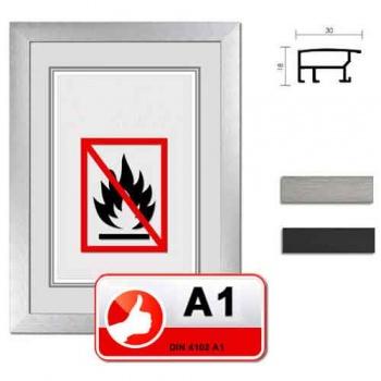 Klassifizierter Standard A1 Brandschutzrahmen L2