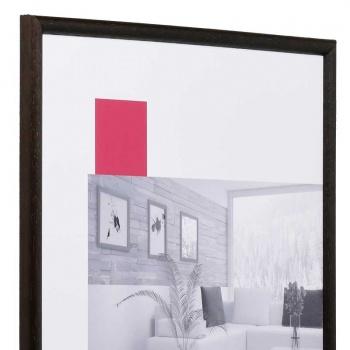 Holz-Bilderrahmen Avignon 9x13 cm | dunkelbraun | Normalglas