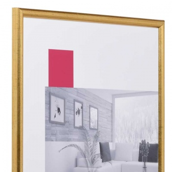 Holz-Bilderrahmen Avignon 18x24 cm   gold   Normalglas