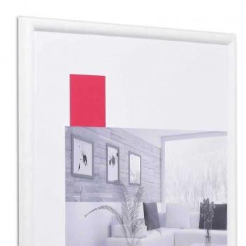 Holz-Bilderrahmen Avignon 9x13 cm | weiß | Normalglas
