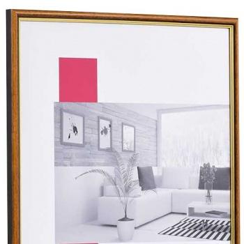 Holz-Bilderrahmen Antony 30x40 cm | honig-gold | Normalglas