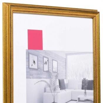 Holz-Bilderrahmen Saint-Pierre 30x45 cm | gold | Antireflexglas