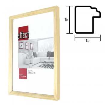 Holz-Bilderrahmen Profil 49
