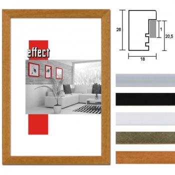 Holzbilderrahmen Profil 58 mit Abstandsleiste