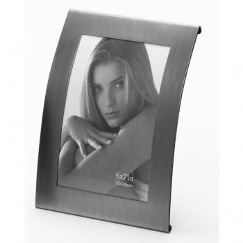 Portraitrahmen Modell 821 - Silber 10x15 | platin | Normalglas