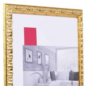 Barock-Bilderrahmen Rémelfing 9x13 cm   gold   Normalglas
