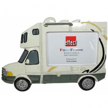 Fun Frame Modell Wohnmobil 8,5x12,5 cm | weiß
