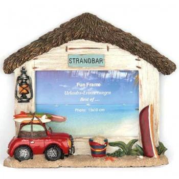Fun Frame Modell Strandhaus 10x15 cm