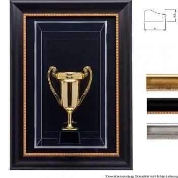3D Acrylbox Barock-Bilderrahmen