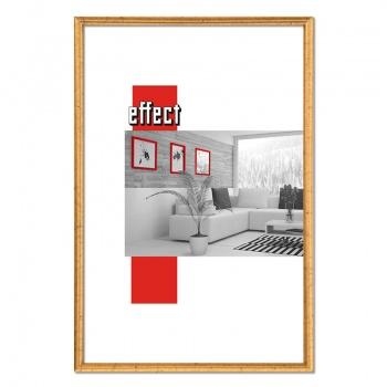 Kunststoffrahmen Art 10x15 | altgold | Normalglas