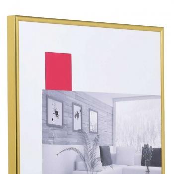 Kunststoffrahmen Art 10x15 | gold | Normalglas