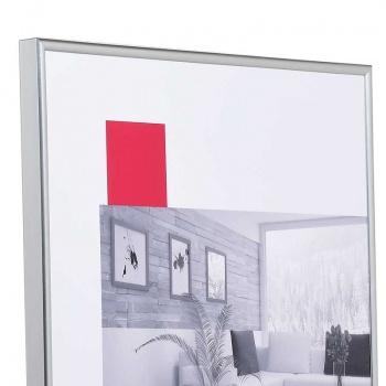 Kunststoffrahmen Art 10x15 | silber | Normalglas