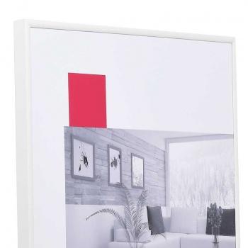 Kunststoffrahmen Art 10x15 | weiß | Normalglas