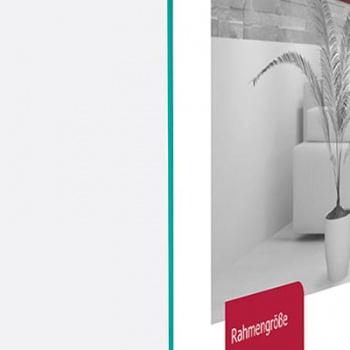 Museumsglas Zuschnitt - EntSpiegel-Bilderrahmentes UV-Glas für Bilderrahmen
