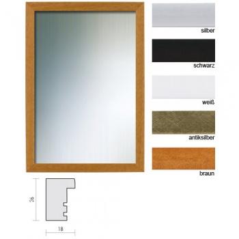 Spiegelrahmen Profil 58 als Sonderformat