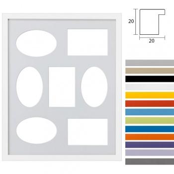 7er Galerierahmen Top Cube in 40x50 cm