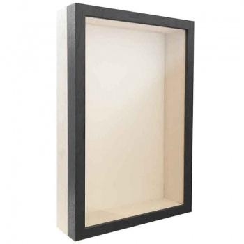 Unibox Bilderrahmen 20x28 cm | grau-weiß | Normalglas